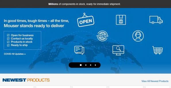 Mouser Electronics et Toradex signent un accord de distribution mondial