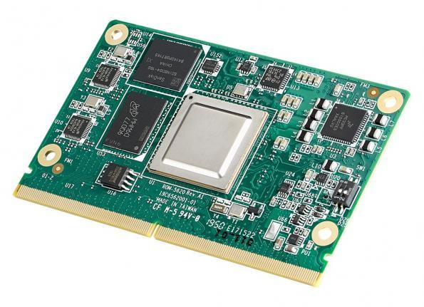 Module Advantech ROM-5620 SMARC2.1 à processeur NXP i.MX 8X