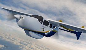 Des systèmes d'alimentation électrique à haut rendement pour le transport aérien