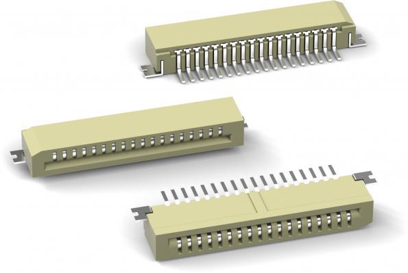 Connecteur nappe flexible sans verrouillage WR-FPC