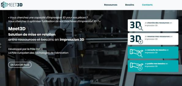 Une plateforme de mise en relation dédiée à la fabrication additive