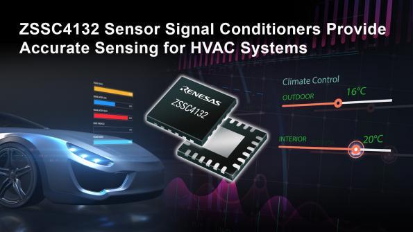 Conditionneur de signal de capteur avec interface LIN intégrée