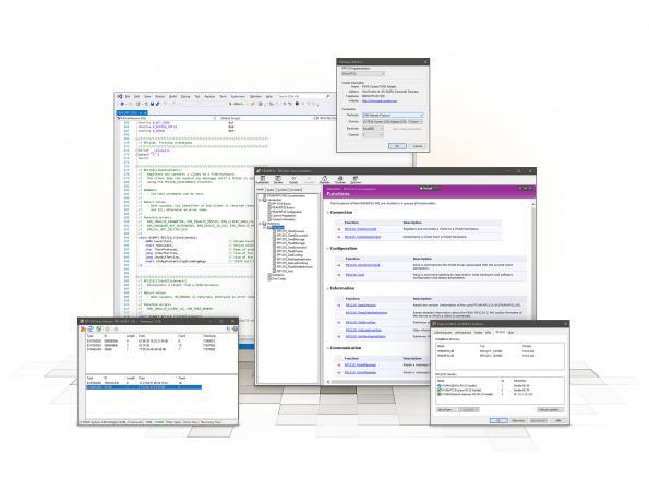 Support gratuit du RP1210 pour les interfaces PEAK-CAN