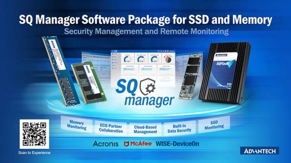 Package logiciel pour surveiller à distance les disques SSD et la mémoire
