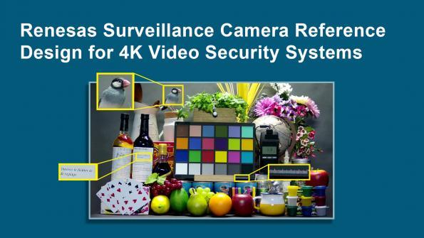Un design de référence pour des caméras de surveillance