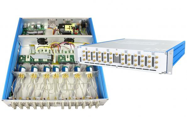 Sous-systèmes clé en main de commutateur à micro-ondes LXI et de routage de signaux