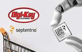 Digi-Key Electronics annonce un partenariat de distribution mondiale avec Septentrio