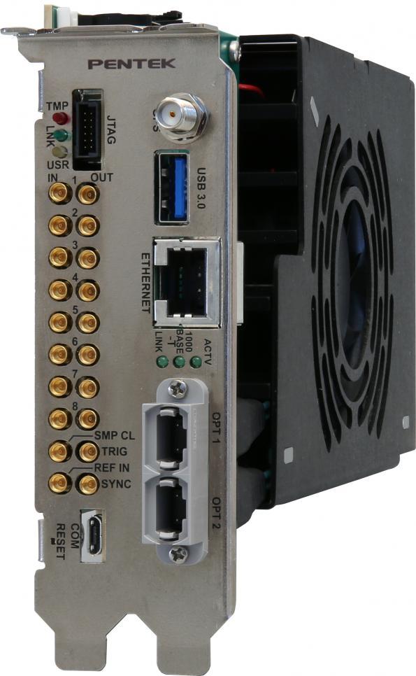Carte RFSoC au format PCIe idéale pour les applications Wireless