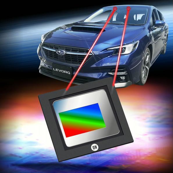 Subaru choisit la technologie de détection d'image ON Semiconductor