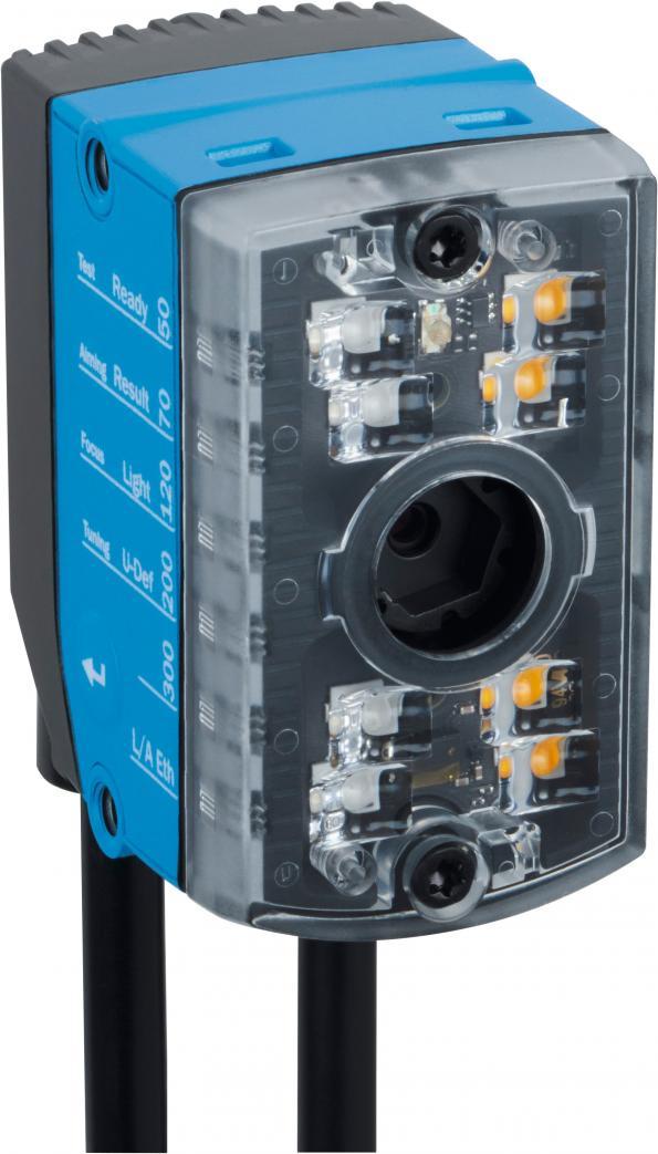 Caméra de lecture de codes miniature