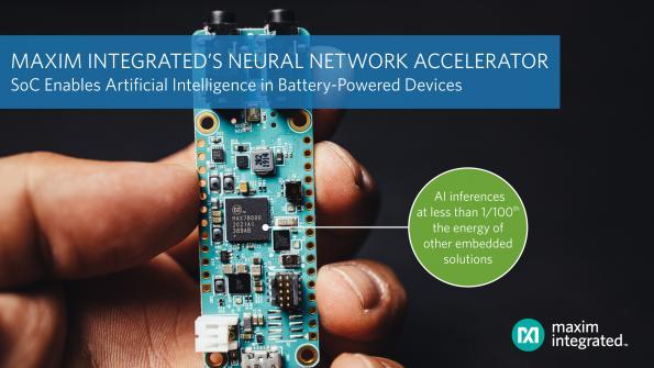 Puce accélératrice de réseau neuronal ouvrant la voie à l'intelligence artificielle IoT
