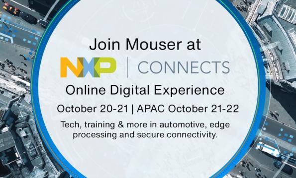 Mouser Electronics Sponsor Premium de NXP Connects 2020