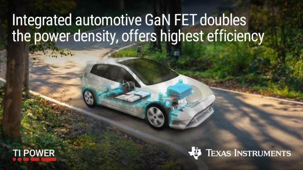 Transistors à effet de champ au nitrure de gallium dédiés à l'automobile avec gestion active de la puissance