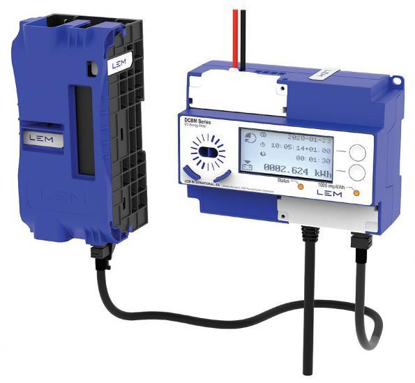 Compteur de courant continu certifié pour chargeurs de véhicules électriques