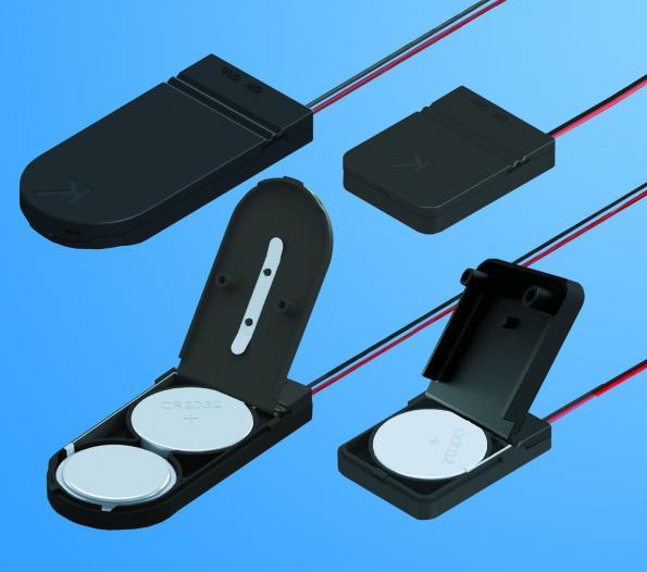 Packs d'alimentation à pile bouton polyvalents compacts