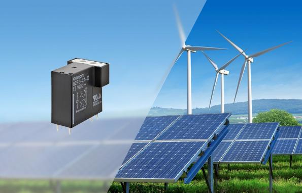 Relais compact 500VDC pour électronique de charge