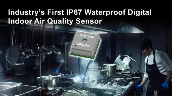 Capteur étanche IP67 pour les environnements à humidité élevée