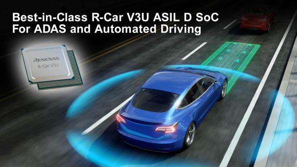 SoC pour systèmes ADAS et systèmes de conduite automatisée