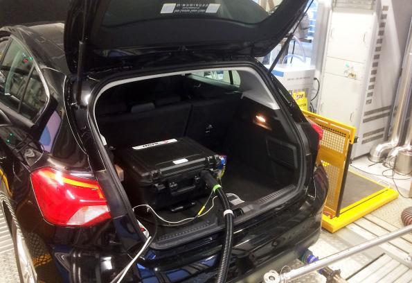 Analyseur d'émissions véhicules en conditions réelles embarqué et connecté
