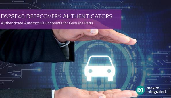 Authentificateur sécurisé de composants de classe automobile