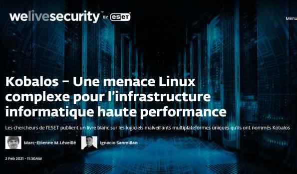 Une menace Linux complexe s'attaquant aux supercalculateurs