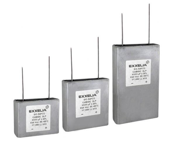 Condensateurs Aluminium Electrolytique Flatpack