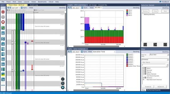 Percepio annonce le support par Tracealyzer d'Azure RTOS ThreadX SMP