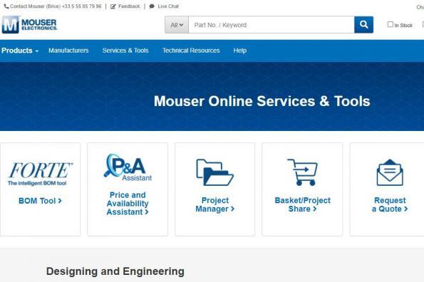 Mouser Electronics intègre 31 nouveaux fabricants au premier