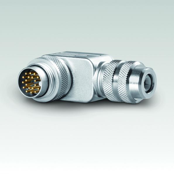 Binder ajoute des versions à boîtier à angle droit à ses principaux connecteurs M12 et M16
