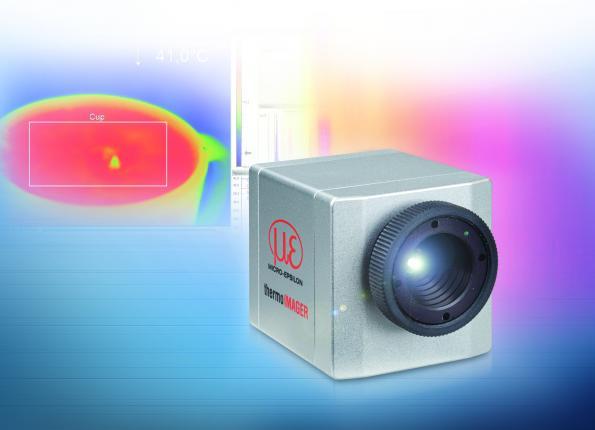Caméra thermique miniature pour les processus industriels