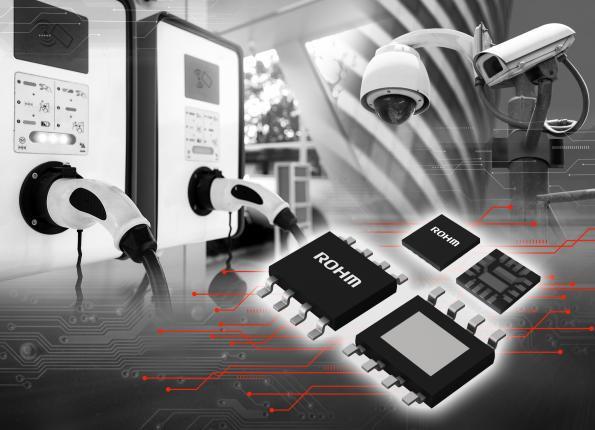 Circuits intégrés d'alimentation avec 80 V de tension de tenue et 5 A de courant de sortie