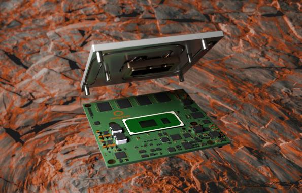 Modules congatec Intel Core 11e Gen ultra-robustes avec RAM soudée