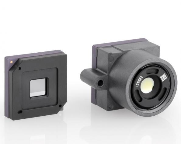 Détecteur infrarouge intégrant le traitement d'images