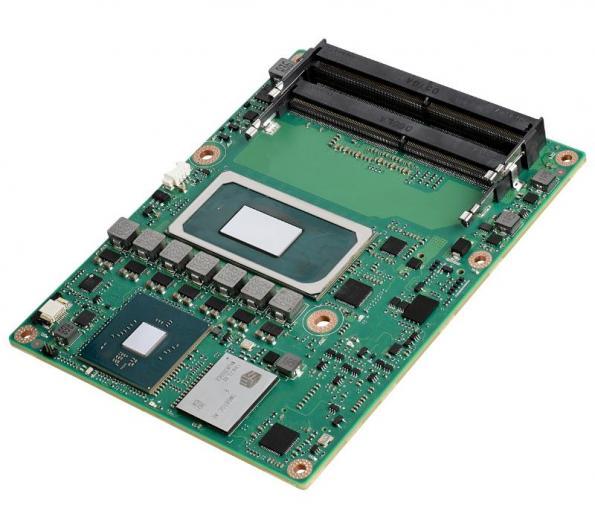 SOM-5883 à processeur Intel Core de 11ème génération