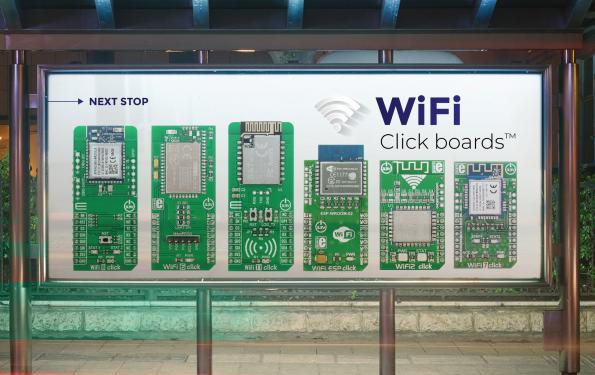 Carte de développement de périphériques Wi-Fi