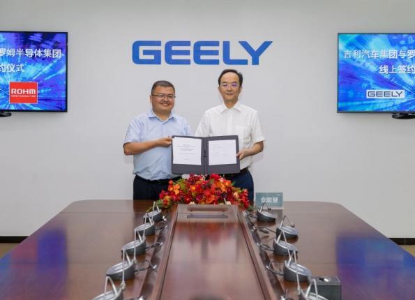 ROHM et Geely Automobile Group : un partenariat stratégique axé sur les dispositifs de puissance SiC
