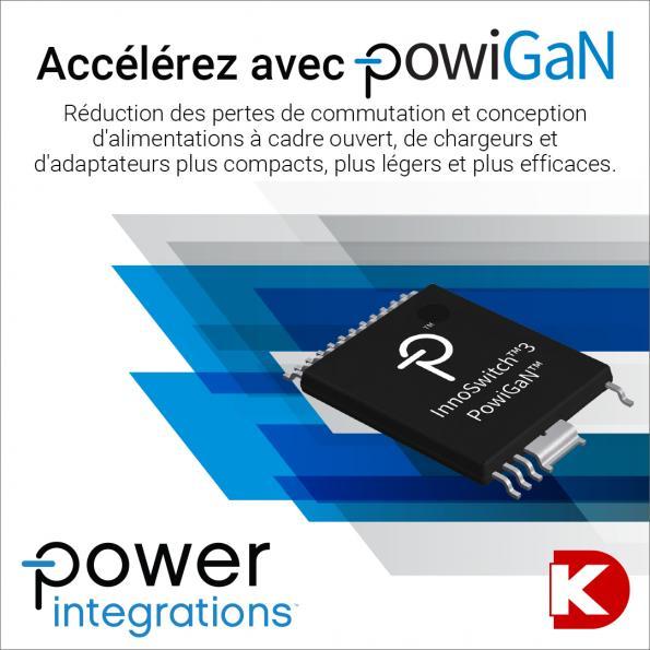 Digi-Key Electronics lance la campagne Power Focus avec Power Integrations