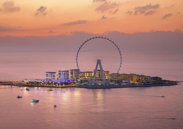 Ain Dubai, la plus grande et plus haute roue panoramique du monde