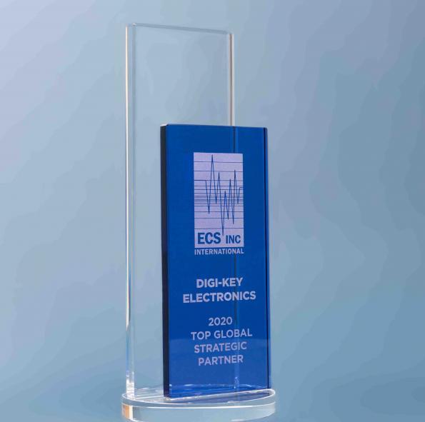 Digi-Key Electronics nommé meilleur partenaire stratégique mondial par ECS Inc. International