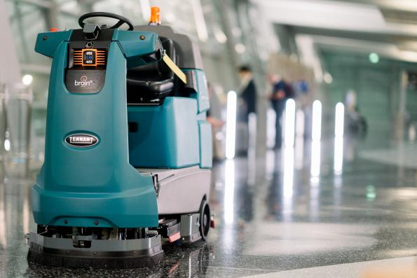 Robots clean up after Covid-19