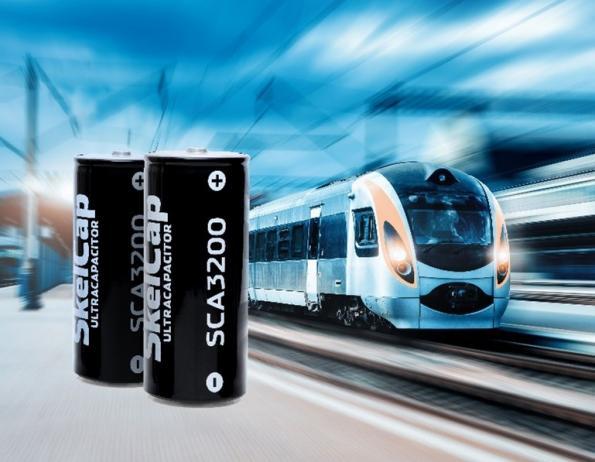 Skeleton's graphene ultracapacitors to power trams