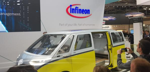 Infineon shows production GaN devices