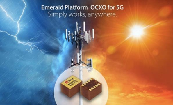 MEMS timing system for 5G infrastructure replaces OCXOs