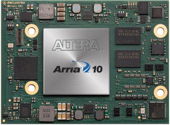 Intel Arria 10 SoC module offers universal connectivity in a small form factor