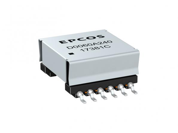 60W surface mount transformers are designed for PoE++