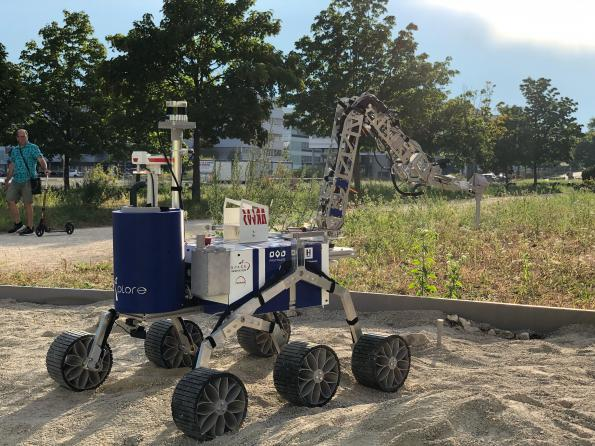 Space rover readies for competition