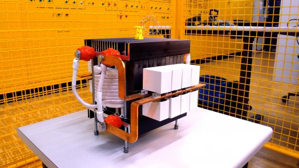 Smaller solid state transformer for DC smart grids