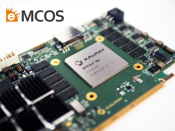 eSOL's eMCOS POSIX RTOS will now offer support for Kalray's Coolidge third-generation MPPA (Massively Parallel Processor Array) intelligent processor.