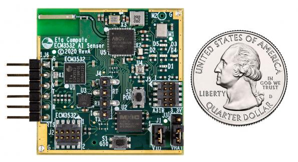 Eta Compute has launched an integrated, ultra-low-power AI Sensor Board, the ECM3532 AI Sensor Board, which has been designed for machine learning at the edge.