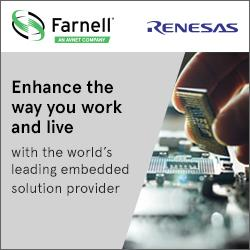 Farnell expanded its product offering in the embedded systems by adding Renesas Electronics range to its product portfolio.